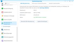 Synology DiskStation Software Update