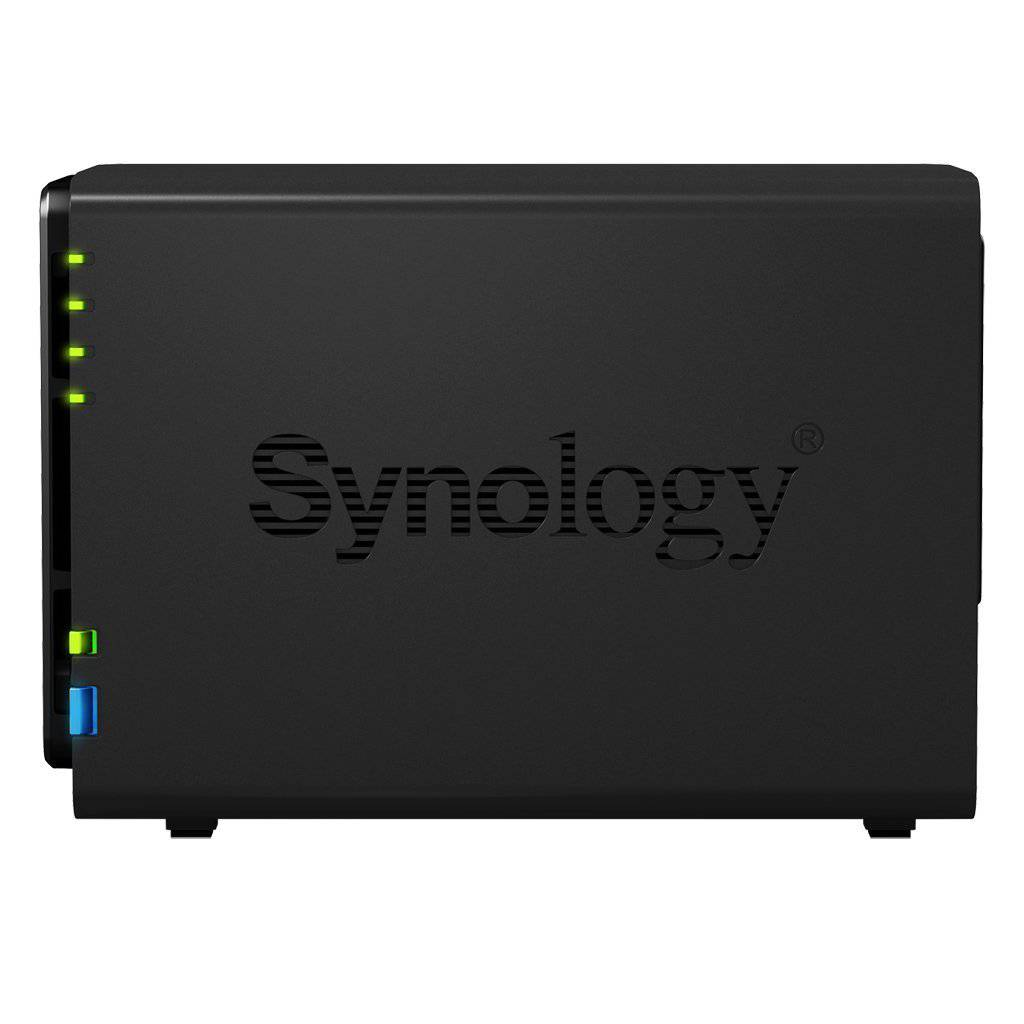 Synology DS214play Server Seitenansicht