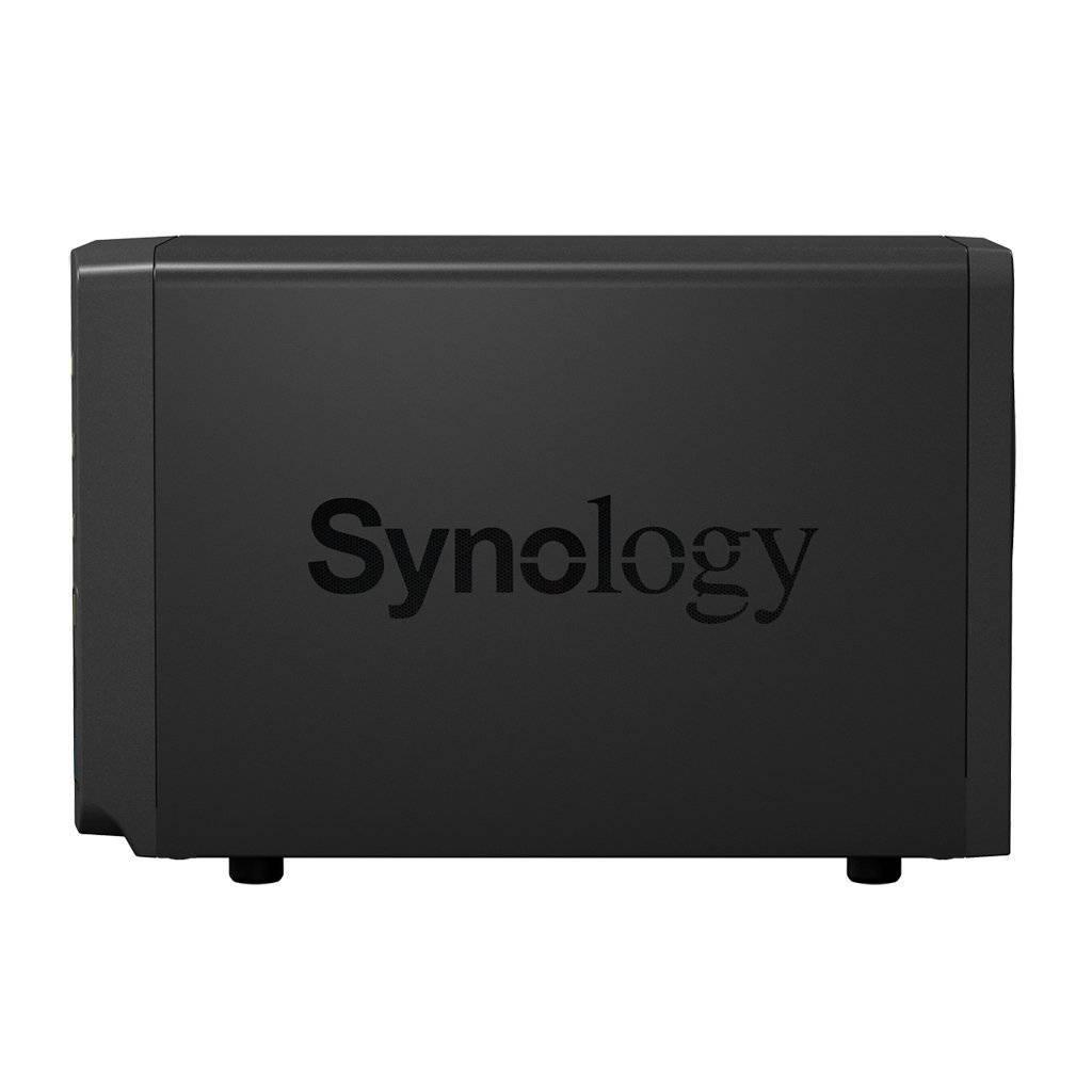 Synology DiskStation 214+ Seitenansicht