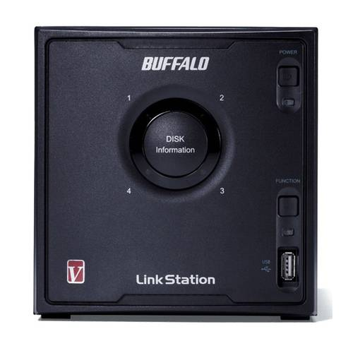 Buffalo LinkStation Pro Quad LS QVL NAS-Server Front