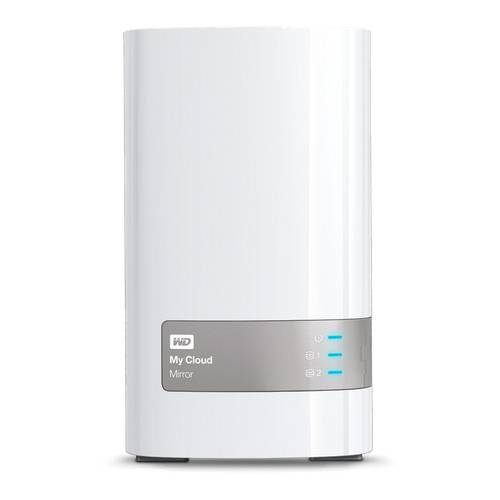 Western Digital MyCloud Mirror Frontansicht